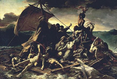 The Raft of the Medusa, Géricault