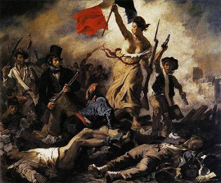 Liberty Leading the People, Delacroix