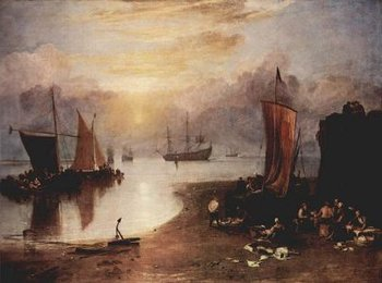 <em>Sun Rising Through Vapour</em>, Turner