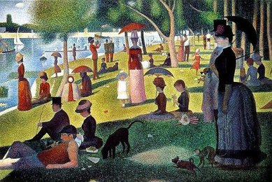 <em>Sunday Afternoon on the Island of la Grande Jatte</em>, Seurat