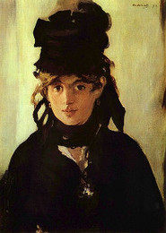 <em>Portrait of Berthe Morisot</em>