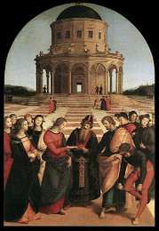 The Engagement of Virgin Mary, Raphael