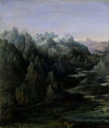Landscape Painting from the Renaissance-era Low Countries
