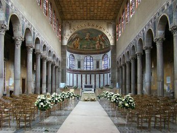 Interior of Santa Sabina