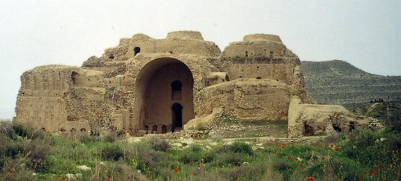 Ruins of a Sassanid Palace