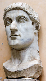 Colossus of Constantine (head)