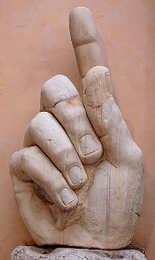 Colossus of Constantine (hand)