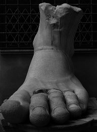 Colossus of Constantine (foot)