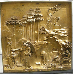 Panel from the Gates of Paradise