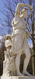 Statue in the Park of Versailles