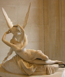 <em>Psyche Awakened by Cupid's Kiss</em>, Canova