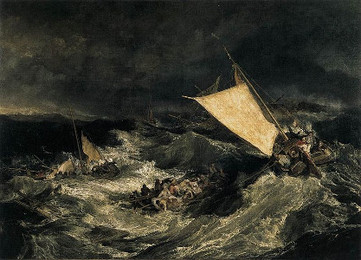 <em>The Shipwreck</em>, Turner