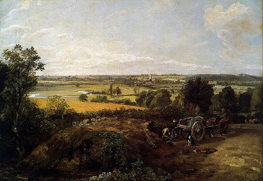 <em>Stour Valley and Dedham Church</em>, Constable