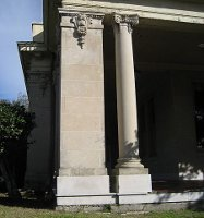 Unfluted Column with Plinth