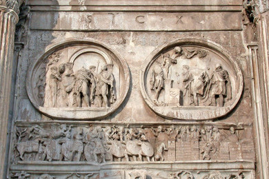 Narrative Relief Sculpture on the Arch of Constantine