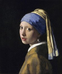 <em>Girl with a Pearl Earring</em>, Vermeer