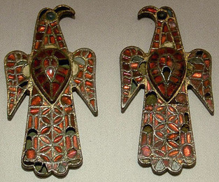 Visigothic Metalwork (brooches)