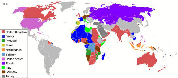 Global Empires ca. WWI