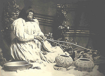 Great Basin Woman (Datsolalee, famous Washo basket-weaver)