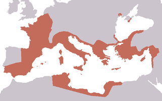 Roman Territory by the end of the Republic