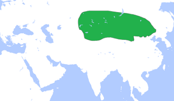 Peak Territory of the Xiongnu Empire