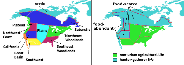Indigenous Culture Areas of North America
