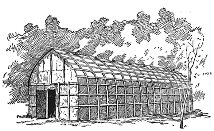 Northeast Building (Iroquois longhouse)