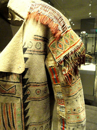 Northeast Clothing (Ojibwe buffalo-skin coat)