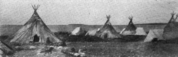 Subarctic Buildings (Dogrib Teepees)